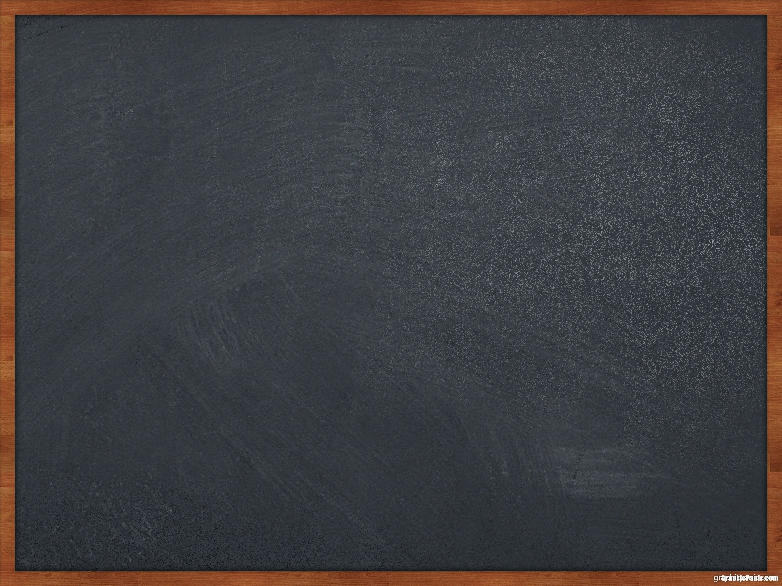 Black Chalkboard Background With Frame
