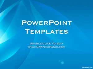 Blue Gradient PowerPoint Themes