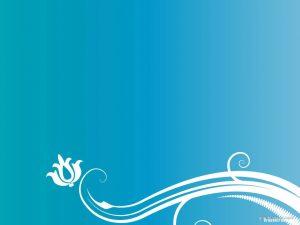 blue ornament background