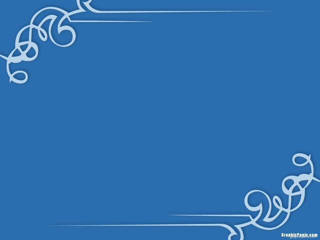 Blue powerpoint background