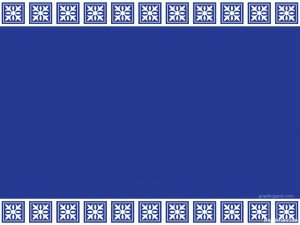 border blue background
