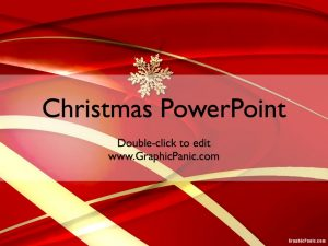 christmas powerpoint theme