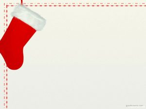 Christmas Stocking Background