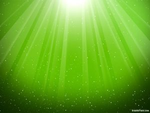 green lighting background