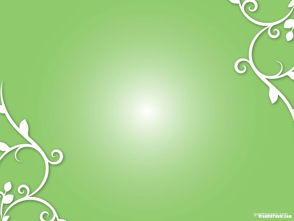 green ornament backgroundImage size: 1024 x 768 pixels
