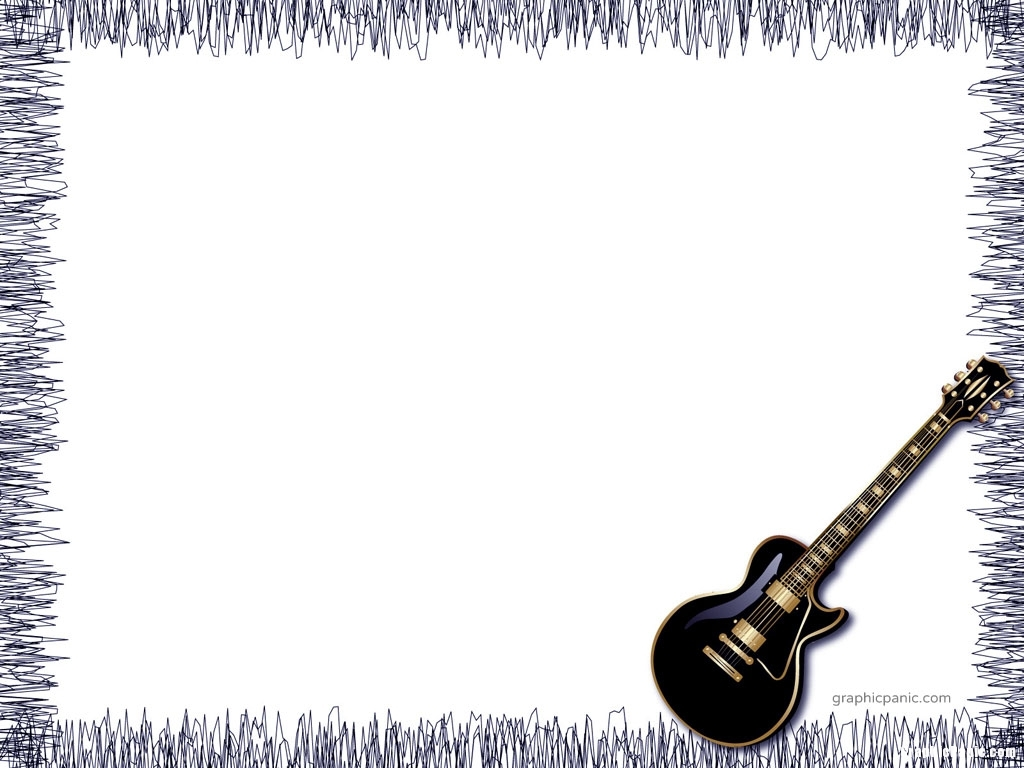 guitar powerpoint background