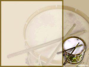 music background drum