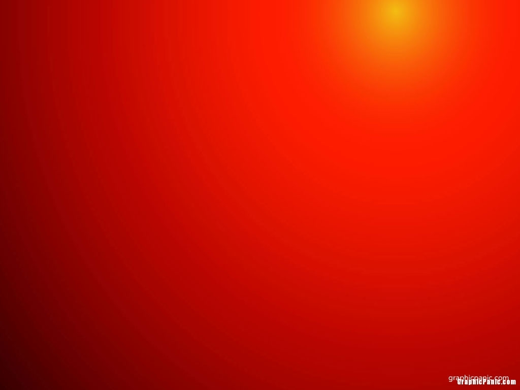 radial gradient red background