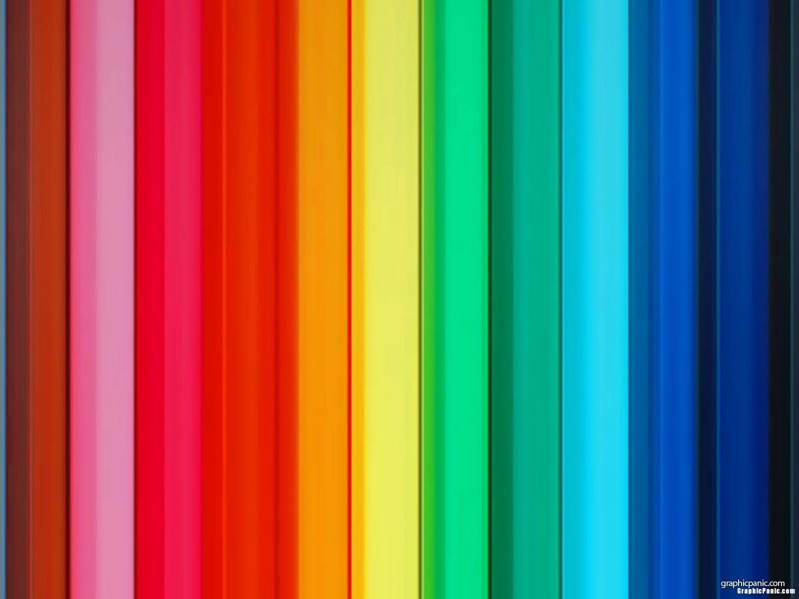 rainbow panel background