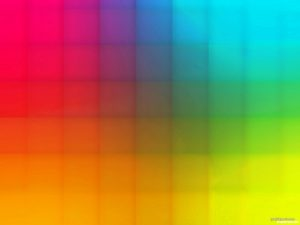 Rainbow Powerpoint Background