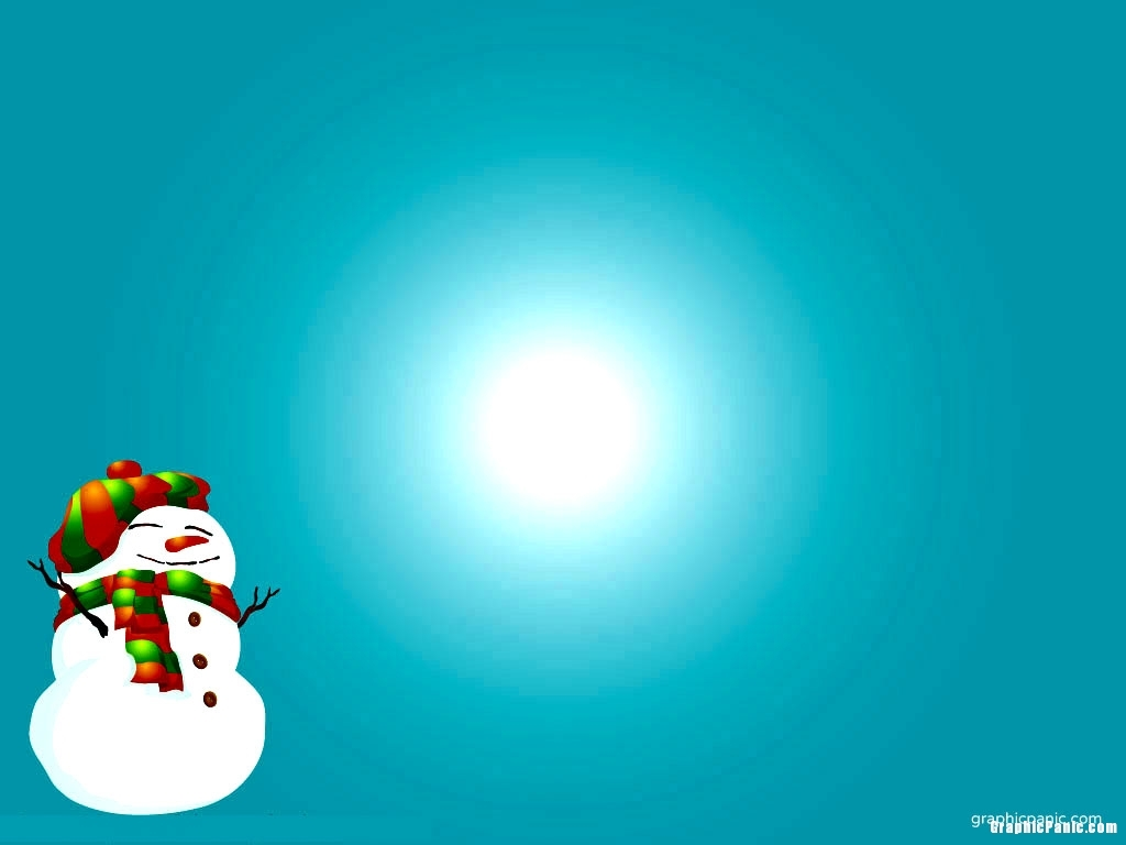 snowman christmas powerpoint backgroundImage size: 1024 x 768 pixels