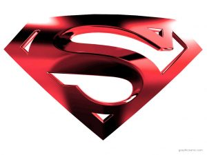 superman logo background