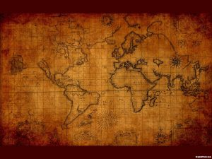 Ancient Map Background