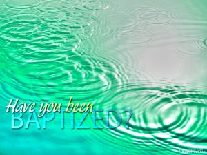 baptism background