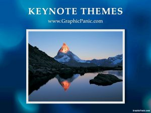 Blue Abstrack Keynote Themes
