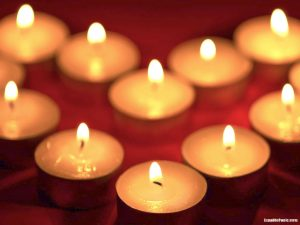 candle light background