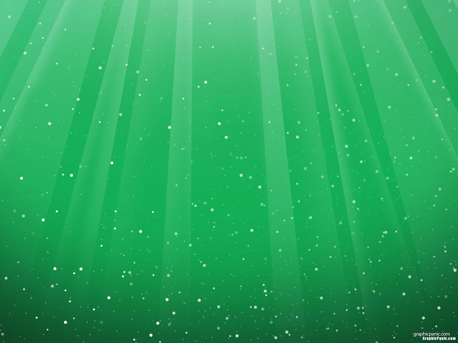 dotted green background