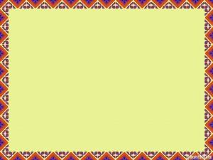 ethnic border background