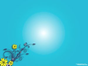 flower background powerpoint