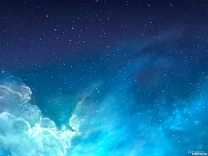 Galaxy Background for Powerpoint