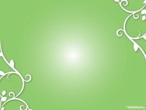 green ornament background