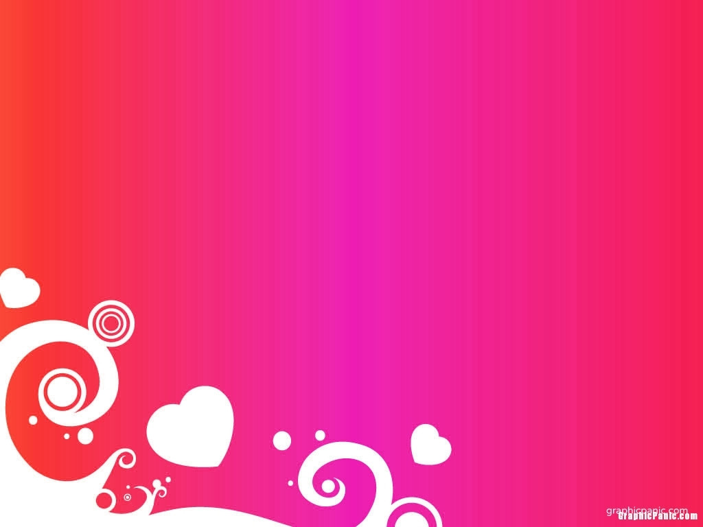 hot pink background