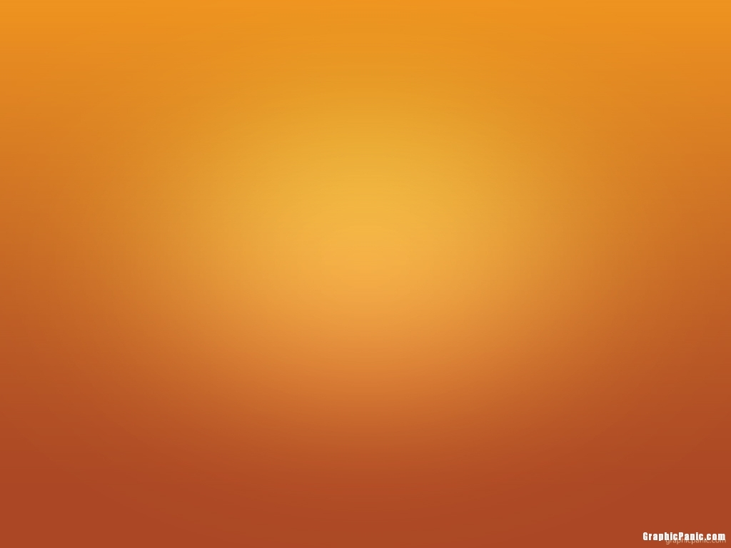 minimalist orange background