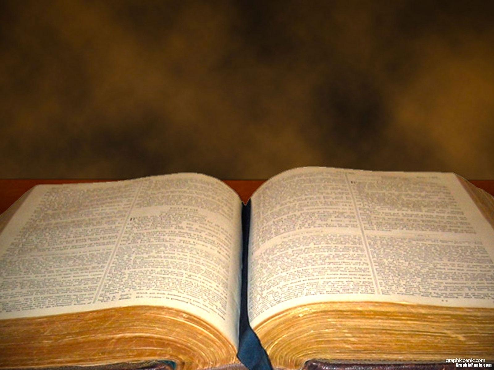 Open Bible Powerpoint Background