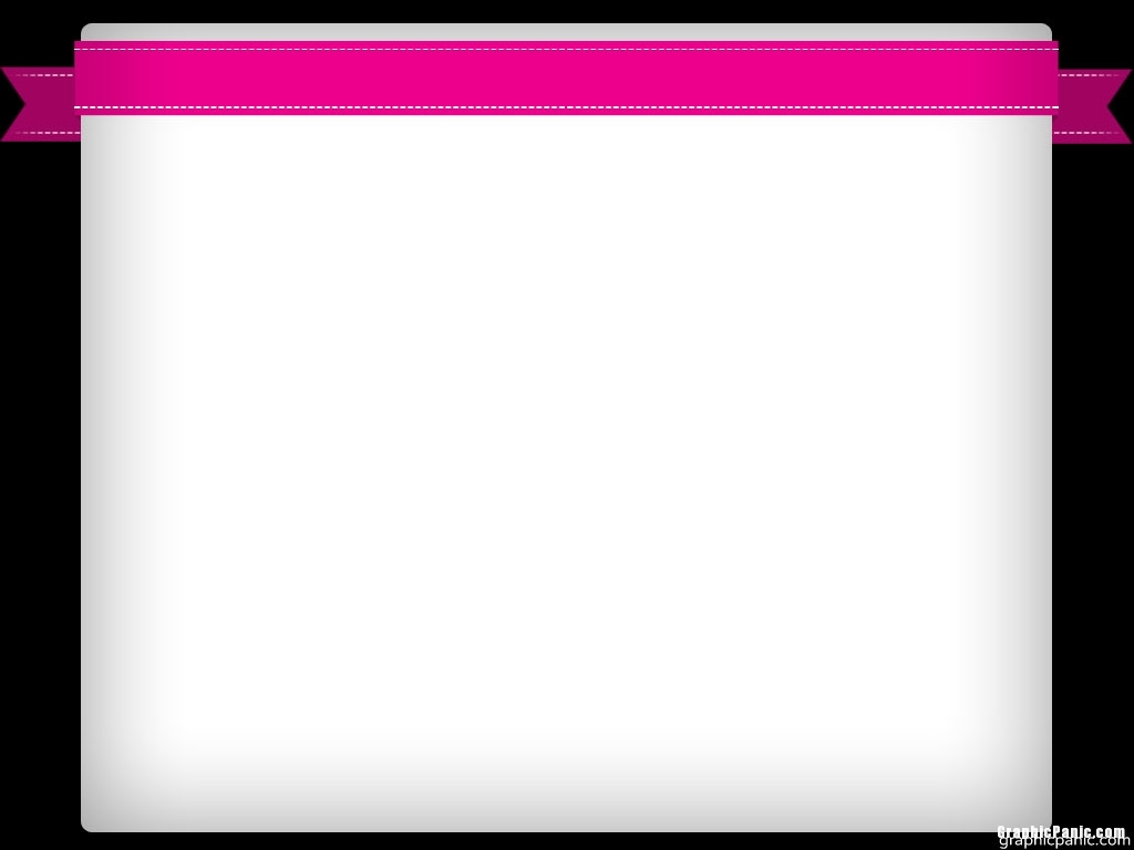 pink ribbon notes background