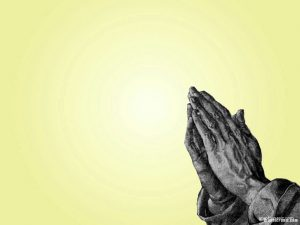praying hands image