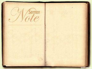 sermon note powerpoint background