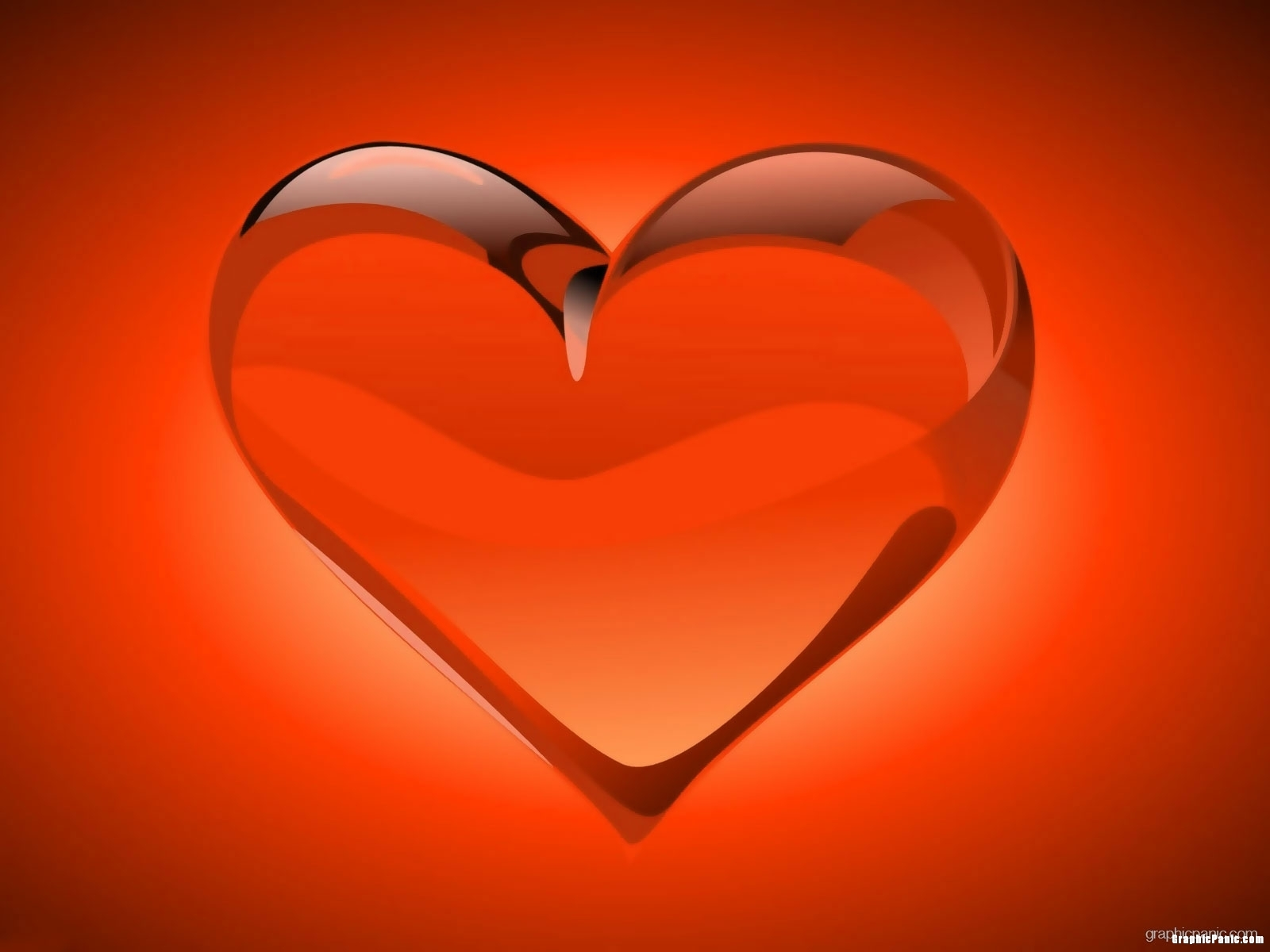 Valentine Heart Modern Background